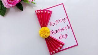 Best 25 Teachers day card 1