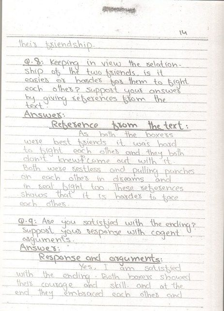 Unit 02 The Champions Class 10 English Notes 4
