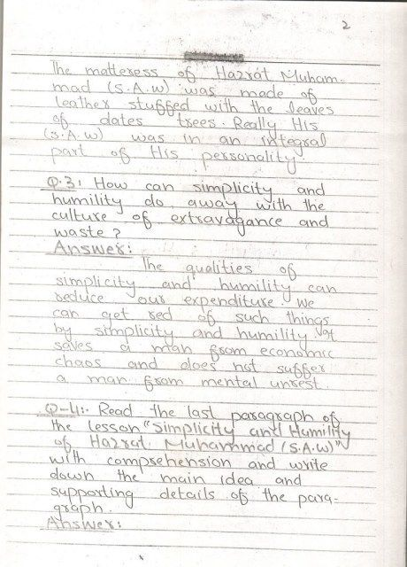 English Notes 10 th Page 02