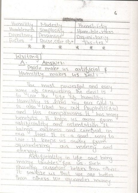 English Notes 10 th Page 06