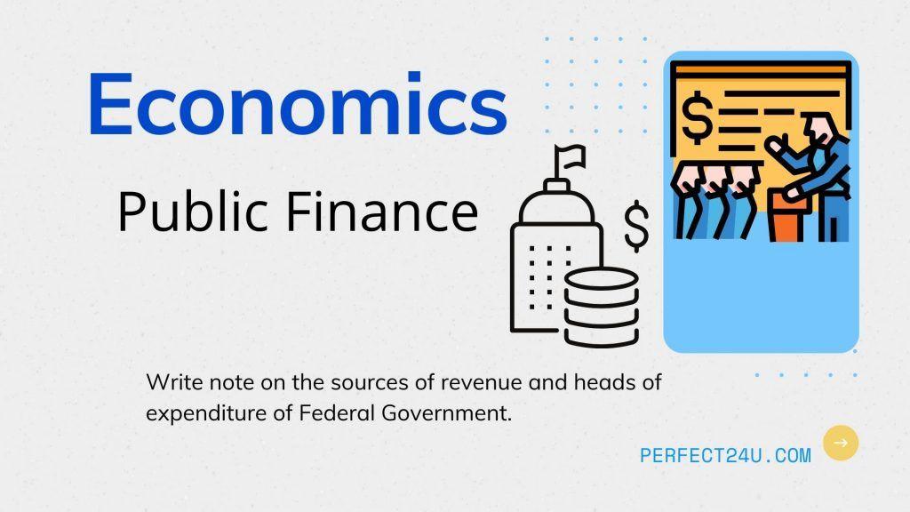 Economics Chapter 14 Public Finance in Pakistan