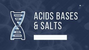 Acids Bases & Salts | Class 11 notes chemistry 2021