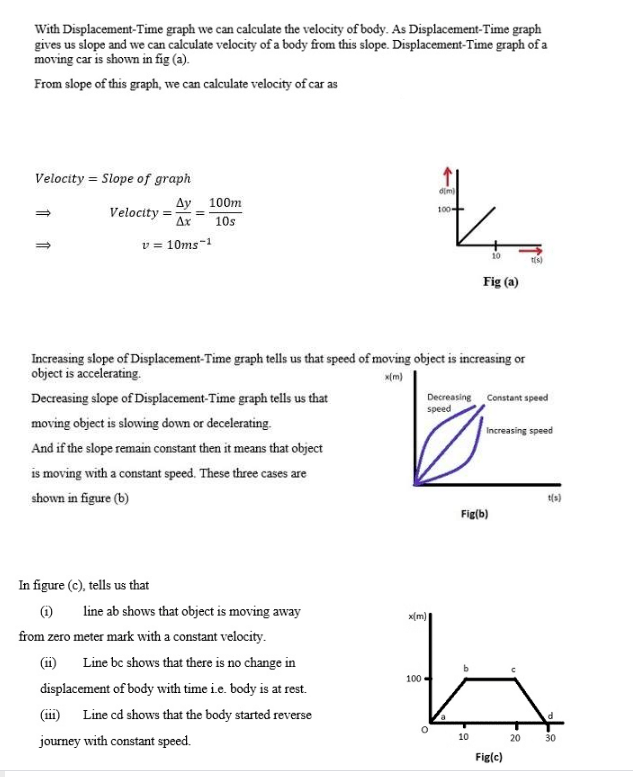 Physics Class 11 Notes Motion and Force for kpk board