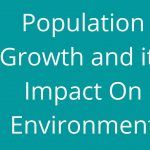 Population-Growth-and-its-Impact-On-Environment