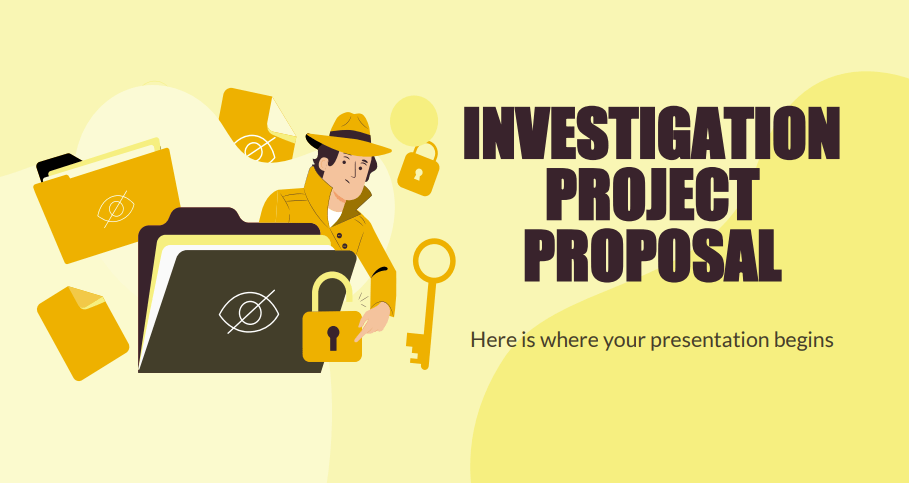 DIT PowerPoint Project Investigation Proposal Download