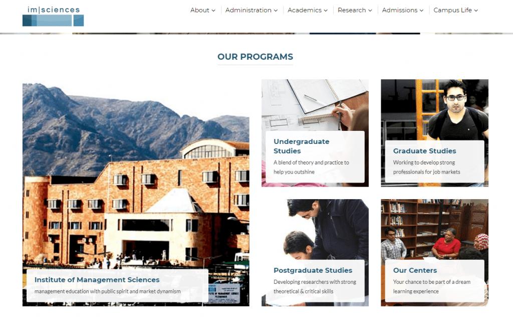 Institute of Management Sciences top 5 kpk universties