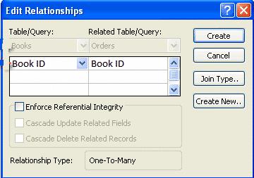 Edit Relationships
