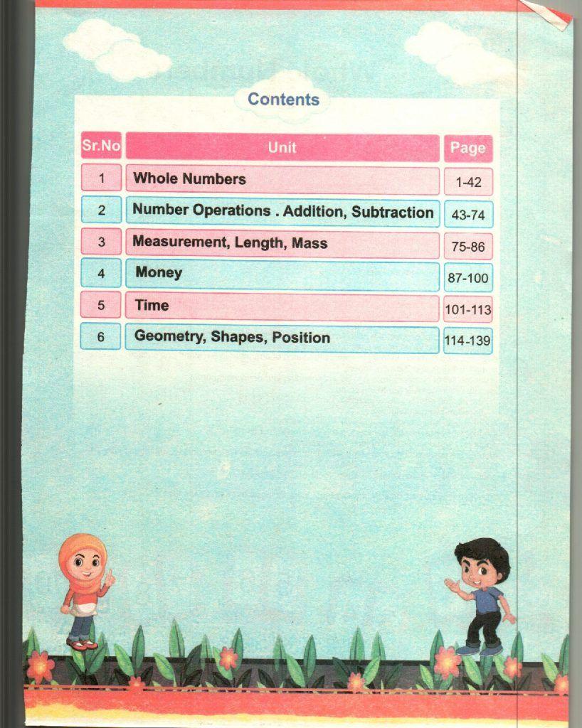 KPK Mathematics Grade 1 TEXTbook 4