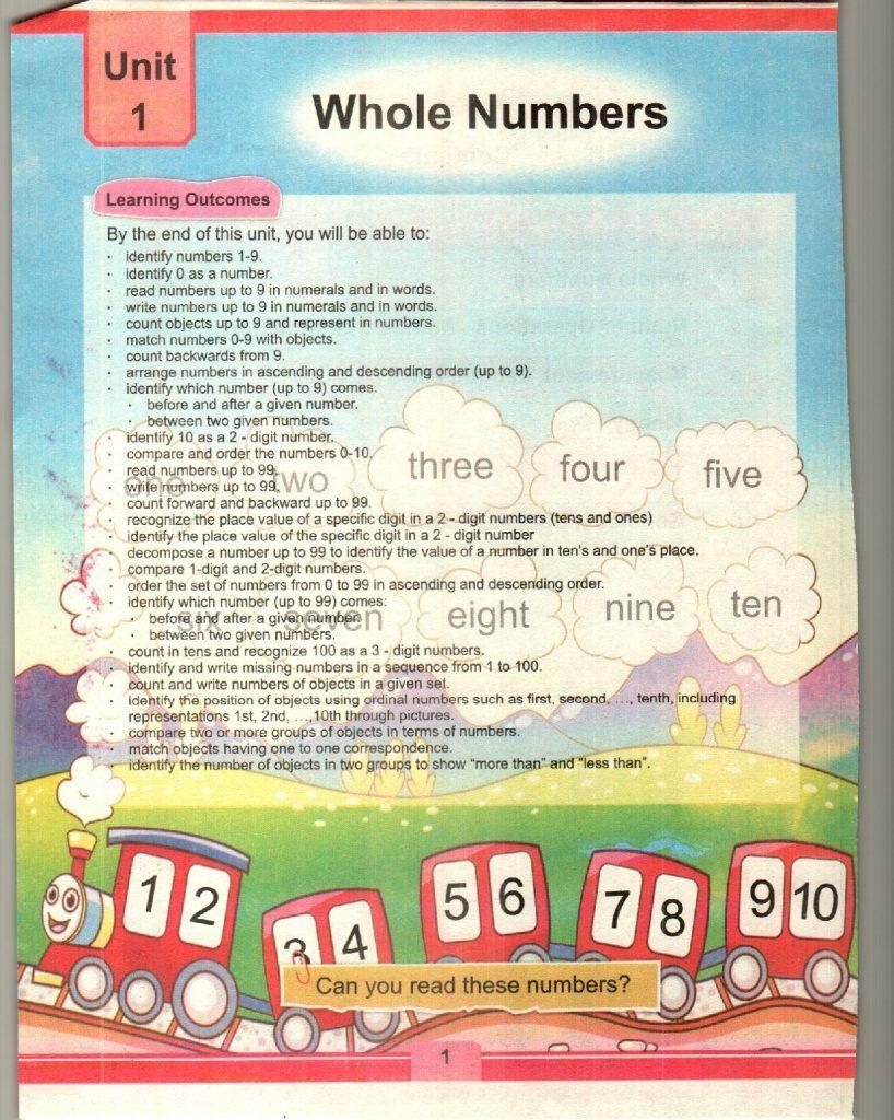 KPK Mathematics Grade 1 TEXTbook 5