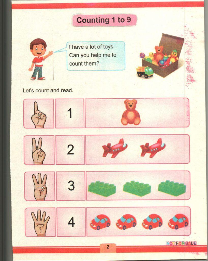 KPK Mathematics Grade 1 TEXTbook 6