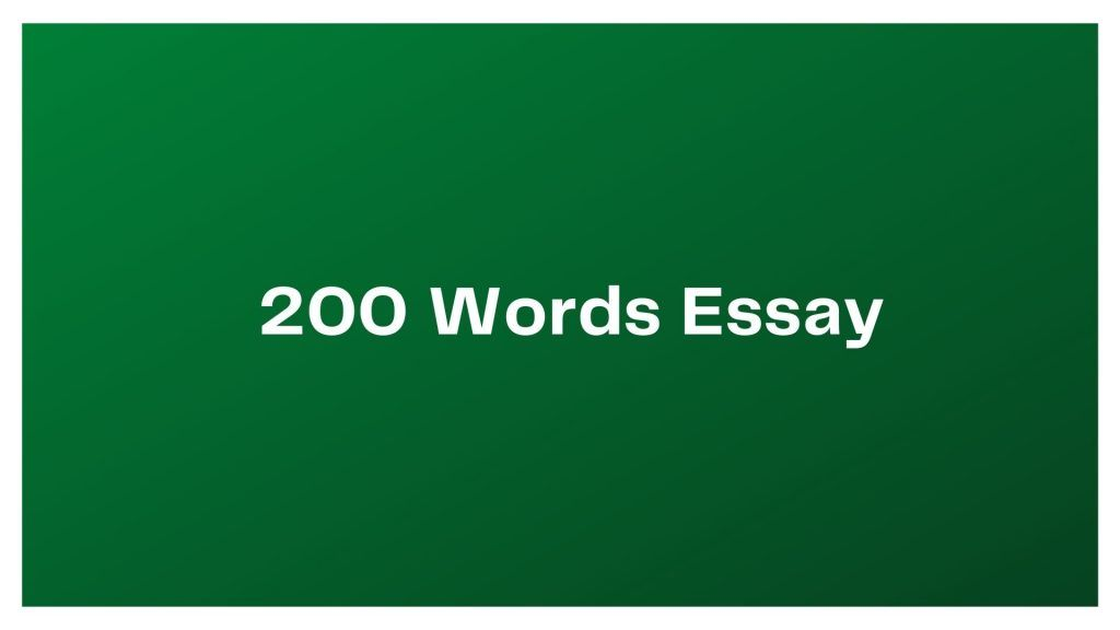 200 Words Essay on Independence Day Pakistan
