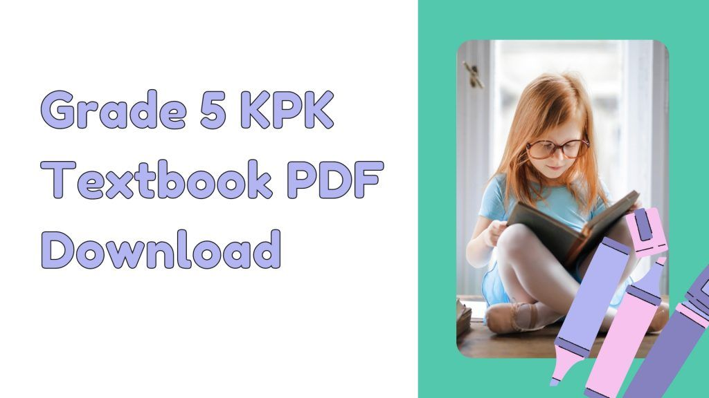 Grade 5 KPK Textbook PDF Download all subjects