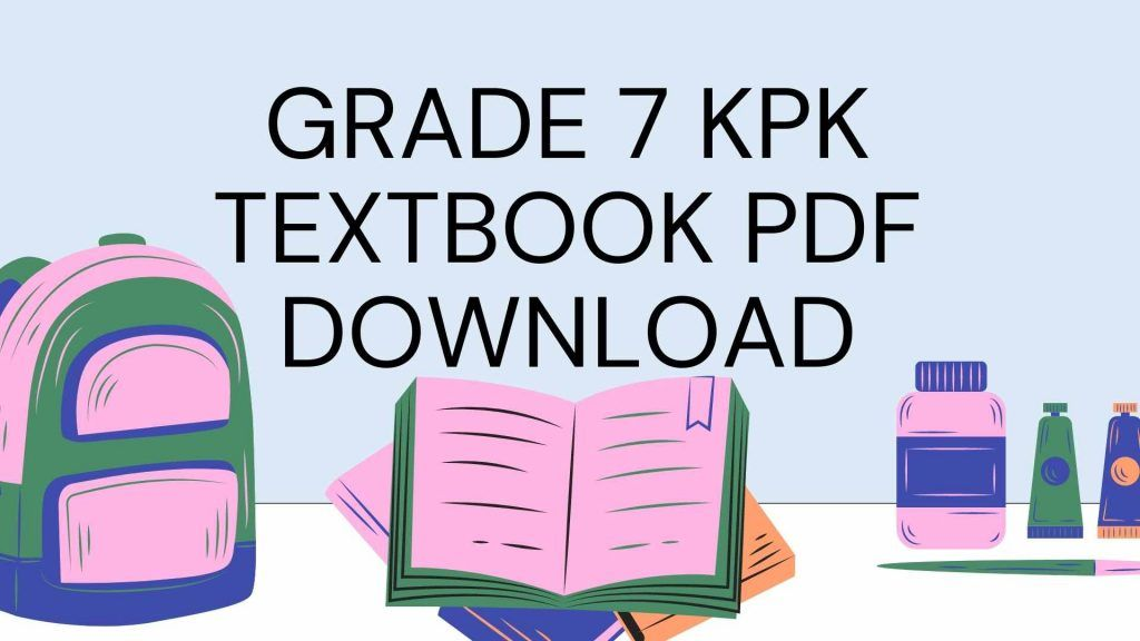 all books Grade 7 KPK Textbook PDF Download