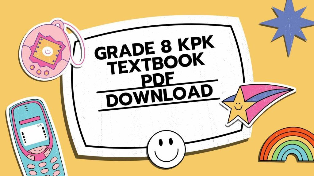 all subjects Grade 8 KPK Textbook PDF Download