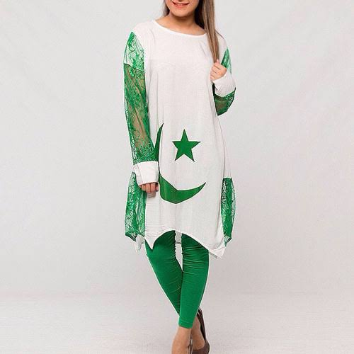 Pakistan independence day cloth