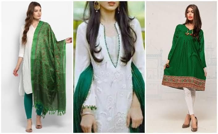 Pakistan independence day dress