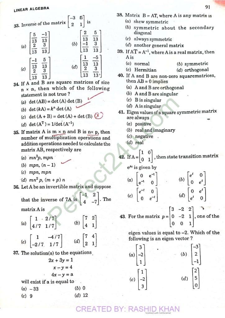 Linear algebra3